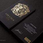 Luxury Business cards printing in UAE