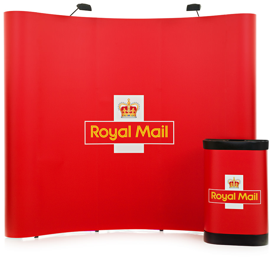 3x3 Pop Up Display Stand - Royal_Mail_3x3_Pop-Up-Exhibition-Display-Stand-XL-Displays