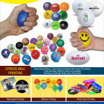 Stress ball A4 banner