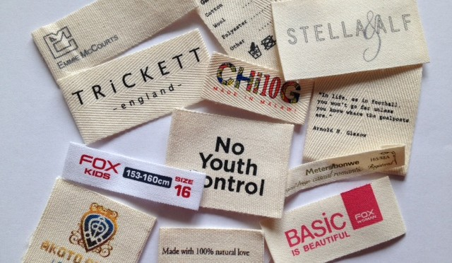 Cotton labels woven label embroidering in dubai sharjah